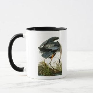 Die Vögel Graureiher-Johns Audubon von Amerika Tasse