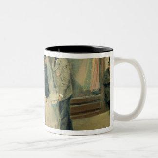 Die Wahl der Hochzeits-Geschenke, 1897-98 Tee Tassen