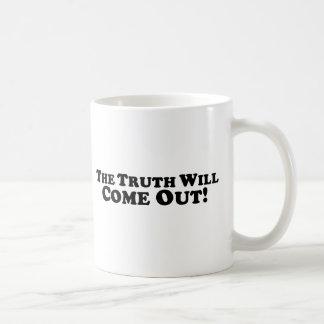 Die Wahrheit kommt - grundlegend heraus Kaffeetasse