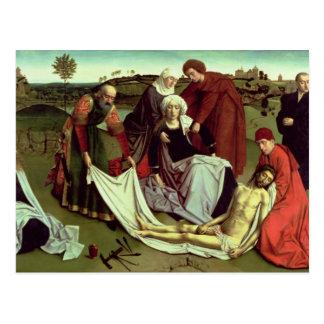 Die Wehklage über dem toten Christus Postkarte
