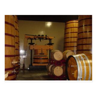 Die Weinkellerei-Postkarte Postkarte