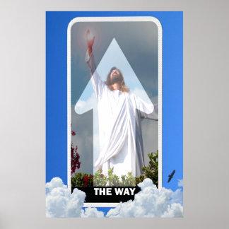 Die Weise! Jesus Christus die ony Weise zum Poster