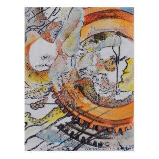 """""""Die Weisen-Sache-Arbeit 2"""" Postkarte"""
