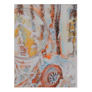 """""""die Weisen-Sache-Arbeit 6"""" Postkarte"""