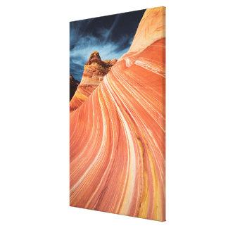 Die Welle, vermilion Klippen, Arizona Leinwanddruck
