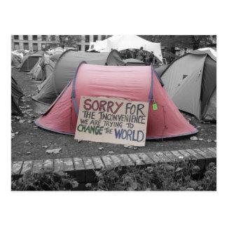 Die Welt retten - Karten Postkarten