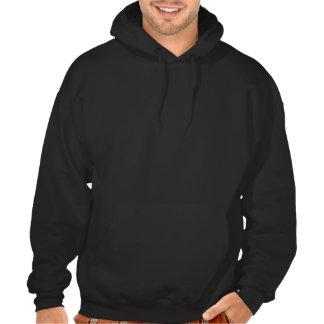 Die Welten am größten: Der Hoodie-Schwarzes der Pullover