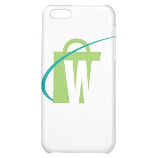 "Die Welten am größten: iPhone ""W"" Fall iPhone 5C Cover"