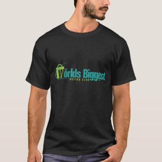 Die Welten am größten: Schwarzes T-Shirt