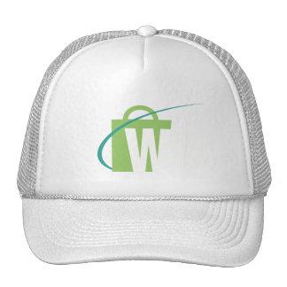 Die Welten am größten: W-Hut-Weiß Baseballkappen