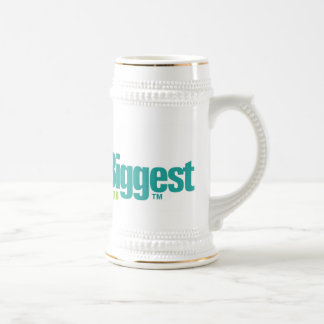 Die Welten am größten: Weißes Bier Stein Teehaferl
