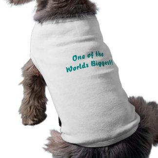 Die Welten am größten: Welpen-Mantel-Weiß, Skript Haustierhemd