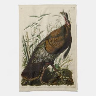 Die wilde Türkei durch John Audubon Handtuch