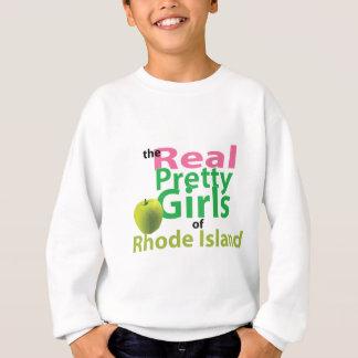 Die wirklichen hübschen Mädchen von Rhode Island Sweatshirt