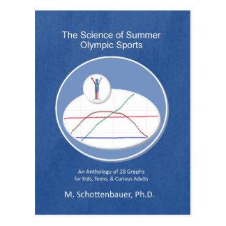 Die Wissenschaft des Sommer-olympischen Sports Postkarte