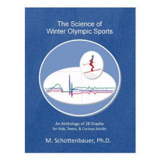 Die Wissenschaft des Winter-olympischen Sports Postkarte