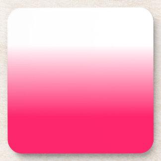 Die Wohngestaltung Trendy rosa Ombre der Frauen Untersetzer