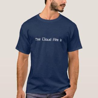 Die Wolke aß es lustiger Geek-T - Shirt
