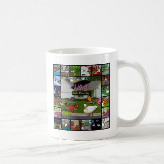 Die Wunsch-Fisch-Familien-Collage Kaffeetasse
