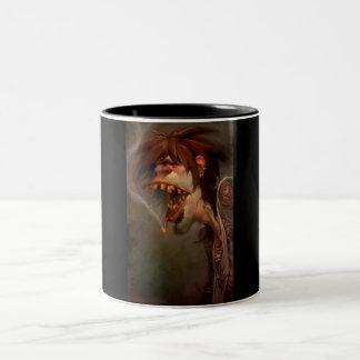 """Die Zombie-Sammlungs-Kaffeetasse """"Karl """" Zweifarbige Tasse"""