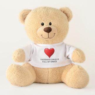 Dienstages Kind Teddy