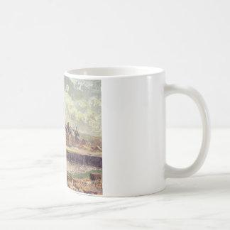 Dieppe, Dunquesne Becken, Sonnenlicht-Effekt, Kaffeetasse