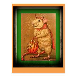 Diese alte Maus Postkarte