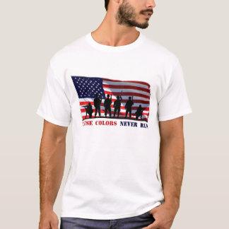 Diese Farben lassen nie T - Shirt laufen