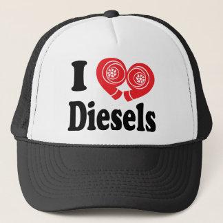 Dieselfernlastfahrer-Hut Truckerkappe