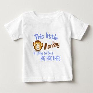 Dieser kleine Affe wird ein GROSSER BRUDER sein! Baby T-shirt