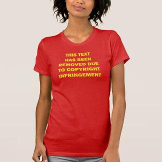 Dieser Text hat an Copyright… entferntes gelegen T-Shirt