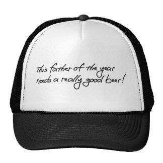 Dieser Vater des Jahres benötigt ein wirklich gute Trucker Kappe