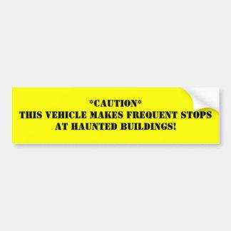 ** Dieses Bauart häufige Halt an H… Autoaufkleber
