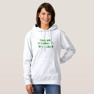 Dieses gehört dem veganen hoodie