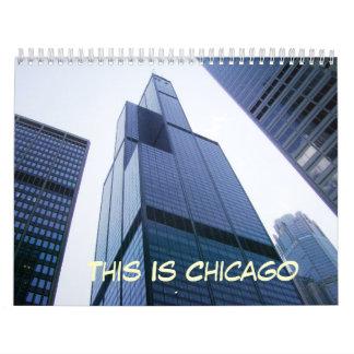 Dieses ist Chicago Kalender