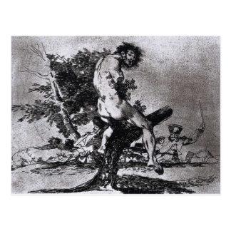Dieses ist durch Francisco Goya schlechter Postkarte