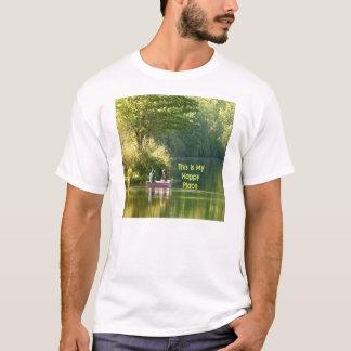 Dieses ist mein glücklicher Platz T-Shirt