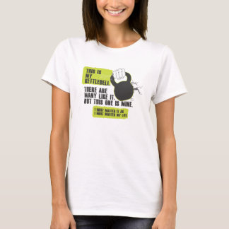 Dieses ist mein kettlebell T-Shirt