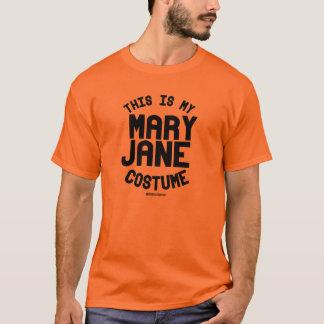 Dieses ist mein Mary Jane Kostüm T-Shirt