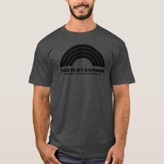 DIESES ist mein Regenbogen. (Ausgedehnte T-Shirt