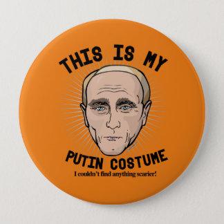 Dieses ist mein Wladimir Putin Kostüm - ich könnte Runder Button 10,2 Cm