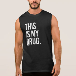 Dieses ist meine Droge -   Trainings-Fitness - Ärmelloses Shirt