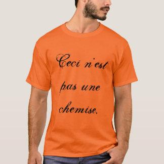 Dieses ist nicht ein Hemd T-Shirt