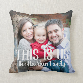 Dieses ist wir Familien-Foto-Kissen Kissen