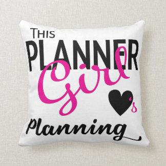Dieses Planer-Mädchen-Liebe-planenkissen Kissen