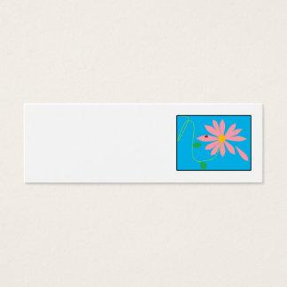 digi Blume Mini Visitenkarte