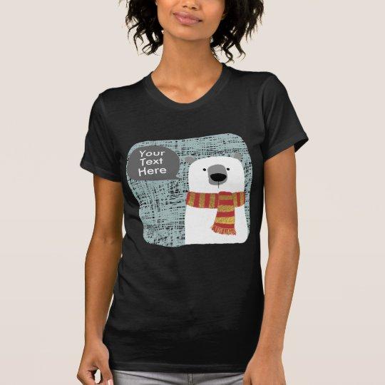 Digital, die polaren Bären zeichnen, schaffen T-Shirt