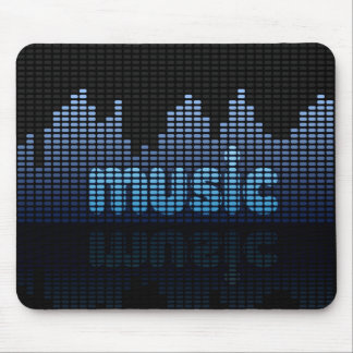 Digital-Entzerrer-Musik-Wand - Mousepad