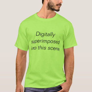 digital gelegt T-Shirt