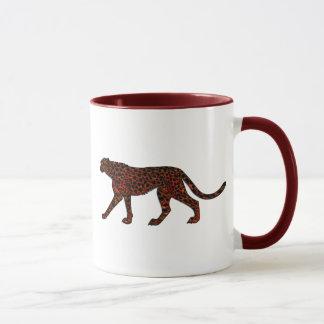 Digital gemalte Leopard-Kunst Tasse